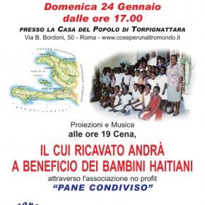 RACCOLTA FONDI PER HAITI