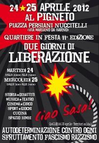 25 APRILE 2012 FESTA DI LIBERAZIONE