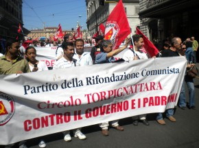 12 MAGGIO 2012: GRAZIE A TUTTI DAL CIRCOLO PRC DI TORPIGNATTARA