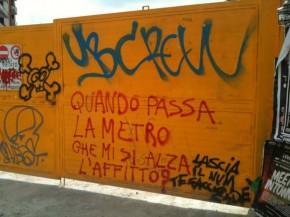 METROPOLITANA AL PIGNETO E SPECULAZIONE IMMOBILIARE...UNA DOMANDA