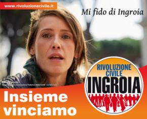 Ilaria Cucchi: Mi fido di Antonio Ingroia