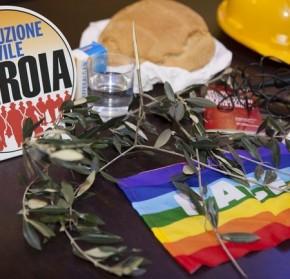 FLAVIO LOTTI (marcia Perugia-Assisi per la Pace) SOSTIENE RIVOLUZIONE CIVILE