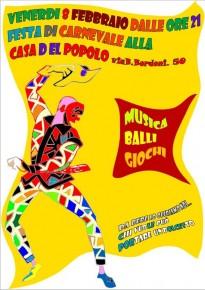 Festa di Carnevale alla Casa del Popolo di Torpignattara