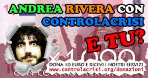 Sostieni il giornalismo libero in Italia: sostieni CONTROLACRISI.ORG