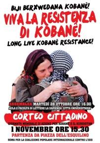 Viva la Resistenza di Kobane