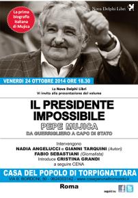 """""""IL PRESIDENTE IMPOSSIBILE"""" -  VENERDI 24 OTTOBRE 2014 ore 18,30"""