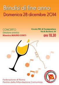 Concertone 2014 : Brindisi di fine anno