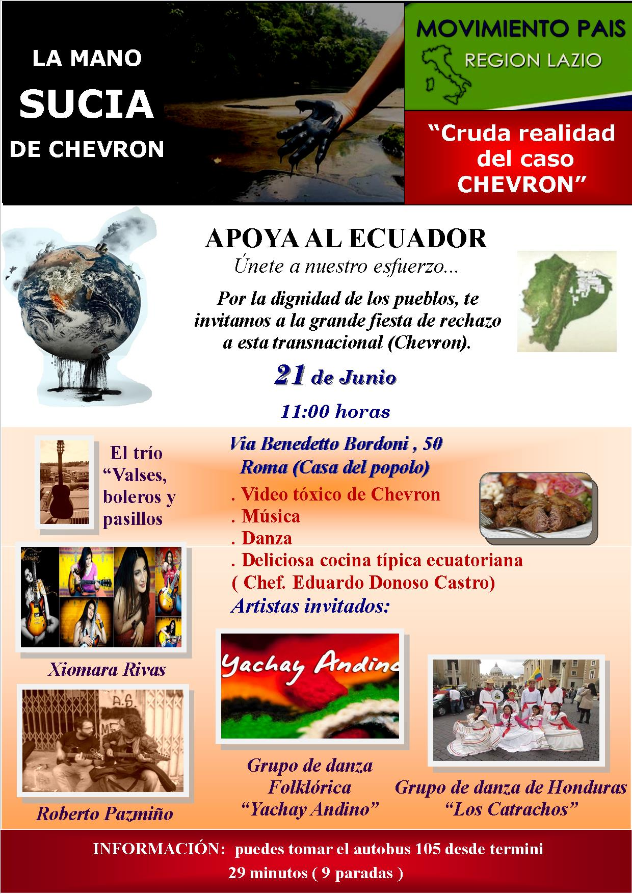 EVENTO CHEVRON Roma