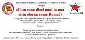 «Cosa sono dieci anni   in una città eterna come Roma?»