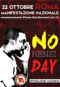 NO RENZI DAY
