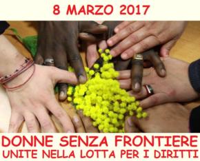DONNE SENZA FRONTIERE - Domenica 12 marzo, dalle ore 14,30, in via Bordoni, 50 presso la Casa del Popolo – Torpignattara