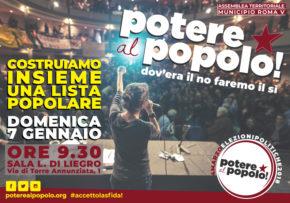Potere al Popolo V Municipio - Roma