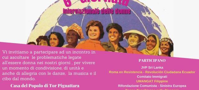 6º INCONTRO DI DONNE MIGRANTI E ITALIANE