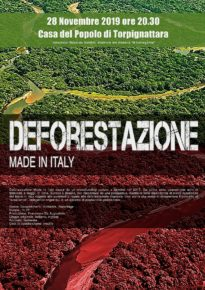 "Deforestazione made in Italy""  di Francesco de Augustinis"