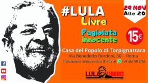 #LulaLivre - feijoada brasiliana