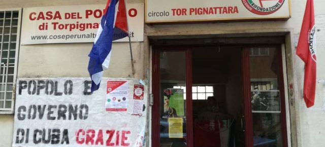 RINGRAZIAMO I CUBANI PER I LORO SFORZI SOLIDALI IN ITALIA E IL MONDO