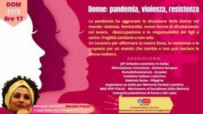 Condizione della Donna - domenica 21 marzo alle ore 17 [evento online]