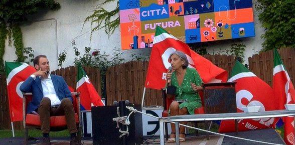 Intervento della nostra candidata presidente Cristina Grandi ad una iniziativa della CGIL